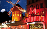 Moulin Rouge - Card�pios